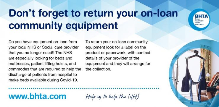 Do you have an unwanted community equipment?