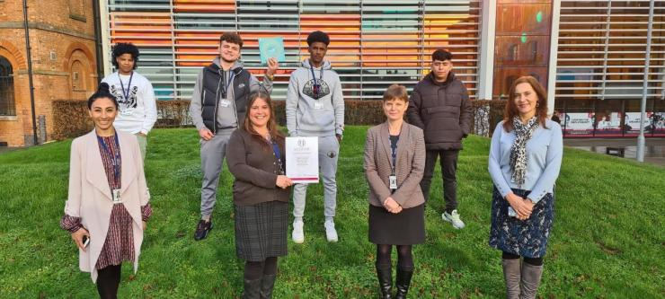 DCG recognised as a college of sanctuary