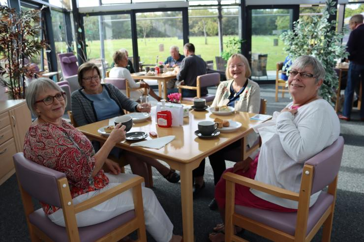 Tears to Laughter Bereavement Group enjoy cakes