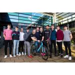 Picture shows: HUUB Ribble Performance Academy coaching and support staff with current and potential young riders.