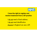 GP access card (front)