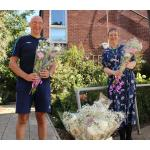 Hospice delivers flowers to shielding patients