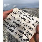 Message in a bottle from a Long Eatonian to Norway