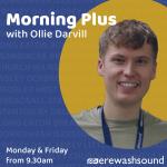 Morning Plus presenter Ollie Darvill