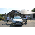 The Roaming Nurses drive an Avensis Auto Tourer Estate thanks to a kind loan from Toyota Motor Manufacturing UK.