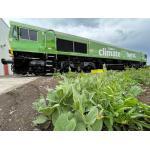 Vegetable oil-run railway engine