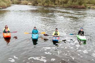 24-hour paddle for MIND