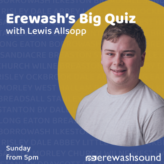Our very own quiz show host - Lewis Allsopp has the questions and answers, Sunday from 5:00pm