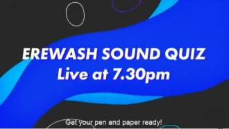 Join us weeknights at 7:30pm, LIVE on Facebook for the Erewash Sound Quiz!