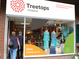 How Treetops Hospice shops will look