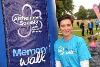 Alzheimers Society Ambassador, actress Vicky McClure