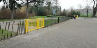 New gates at West Park